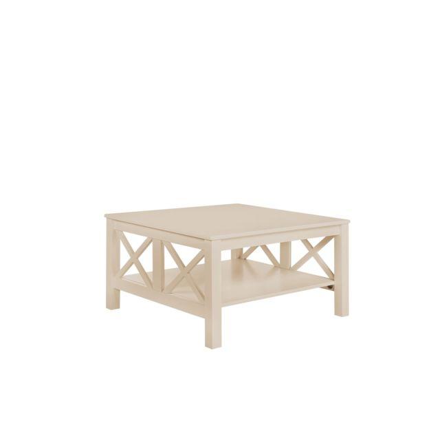 BELIANI Table basse beige LOTTA - beige