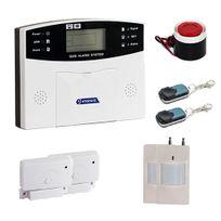 EMATRONIC - Alarme kit mixte sans-fil et filaire avec transmetteur Gsm Al01 - Pour 2 ou 3 pièces