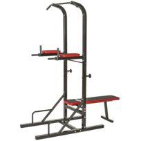 Autre - Station de musculation compléte dips tractions haltère sport fitness 0708020