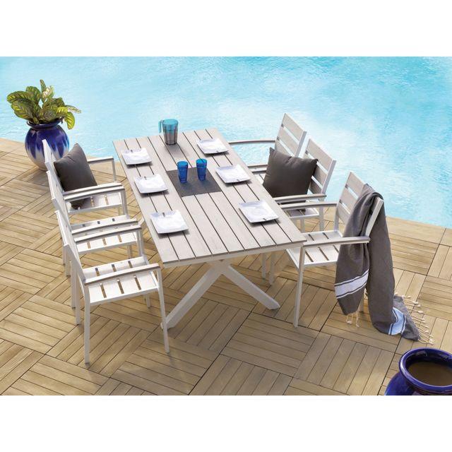 Beautiful Salon De Jardin Azua Taupe Ideas - ansomone.us - ansomone.us
