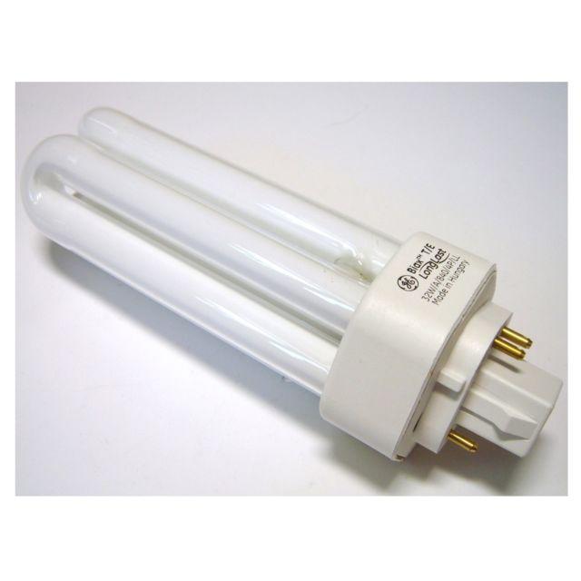 GE 18 W LONGLAST 4 broches Lampe Biax D//E Lampe Couleur Blanc G24q-2 1200 lm