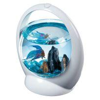 Tetra - Aquarium combattant avec éclairage 1,8 L Betta Ring