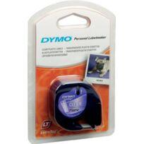 Dymo - Ruban plastique - titreuse Letra Tag - 12 mm - vert foncé