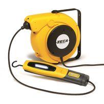 Zeca - Enrouleur électrique avec baladeuse Led 14+1,5m 5907/330 230V