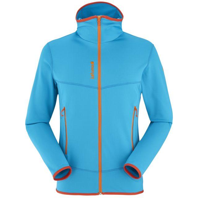 bf9654a52ad42 Lafuma - Veste Track Thermal Hoodie Bleu Homme - pas cher Achat   Vente  Blousons, vestes - RueDuCommerce