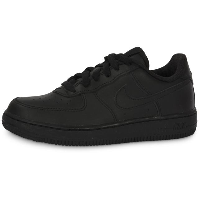 magasin meilleurs vendeurs techniques modernes vente limitée Nike - Air Force 1 Enfant Noire Baskets - pas cher Achat ...
