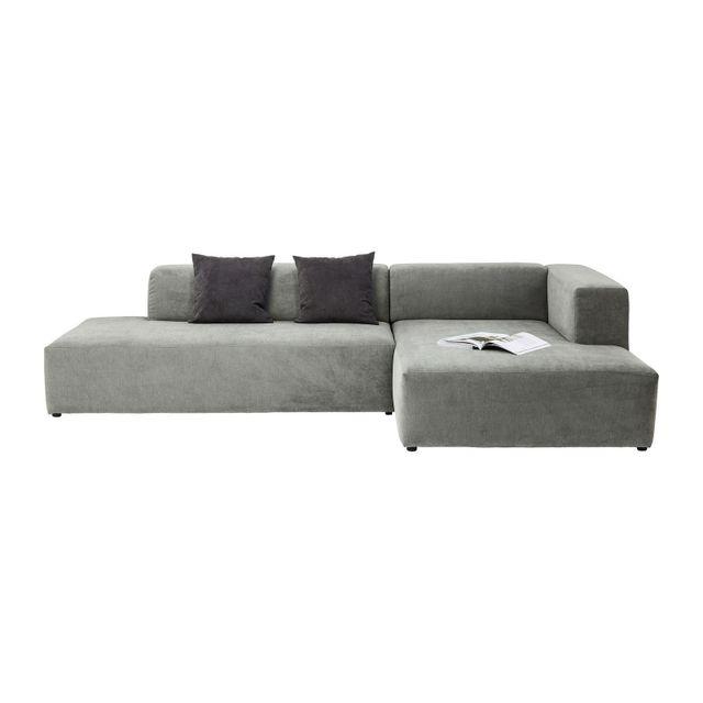 Karedesign Canapé d angle Pablo Grande droite Kare Design