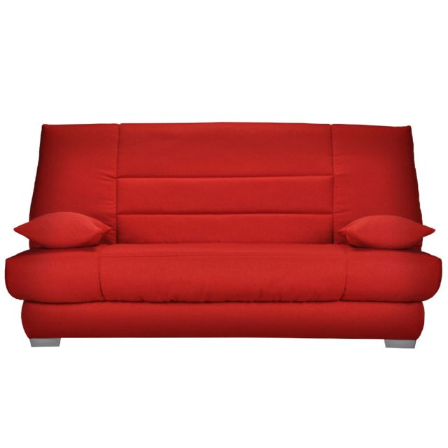 KASALINEA Banquette clic clac rouge HONORE