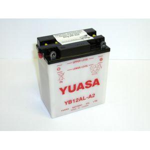 yuasa batterie moto yb12al a2 pas cher achat vente batteries rueducommerce. Black Bedroom Furniture Sets. Home Design Ideas