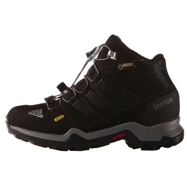 best website 9af3a 5ce8d Adidas - Terrex Mid Gtx - Chaussures Enfant - noir - pas cher Achat  Vente  Chaussures grande rando - RueDuCommerce