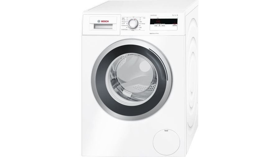 bosch lave linge avec moteur induction wan28066ff blanc achat lave linge hublot a. Black Bedroom Furniture Sets. Home Design Ideas