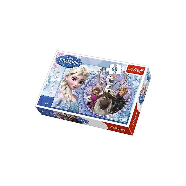 La Reine Des Neiges Puzzle 60 pièces