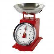 Générique Balance de cuisine métal rouge