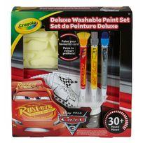 Crayola - Kit de Peinture Deluxe Cars 3