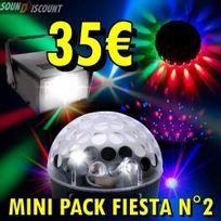 Avec Ufo Led Effets Strobo Lumiere Pack Sono Jeux N°2 Dj 3 Pa De Astro c1T3lKJF
