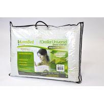 Espritzen - Lot de 2 oreillers mémoire de forme Greenbed ViscoSoja. Taille : 60x40cm et 10cm d'épaisseur