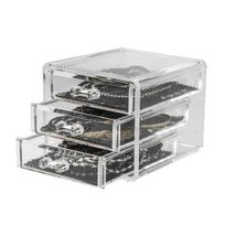 Compactor - Coffret range-bijoux 3 tiroirs
