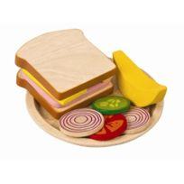 Plan Toys - Plantoys - Pt3464 - Jeu D'IMITATION - Assiette Sandwich