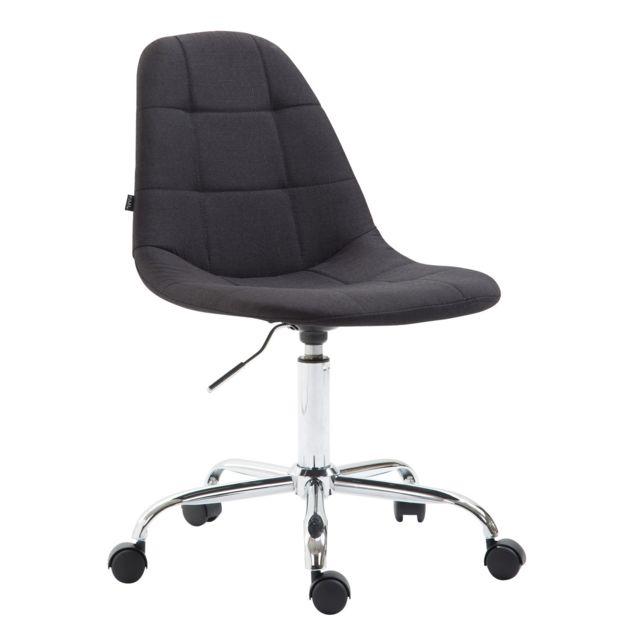 Contemporain chaise de bureau, fauteuil de bureau Vaduz en tissu