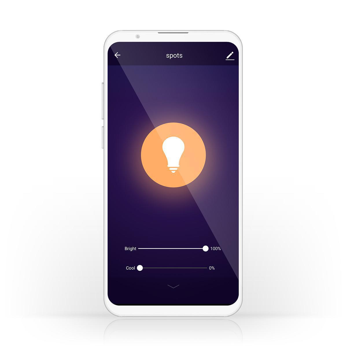 Ampoule LED Intelligente Wi-Fi