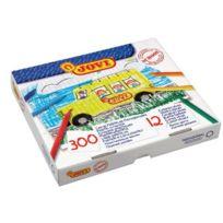 Jovi - crayon de couleur plastique assorti - boite de 300