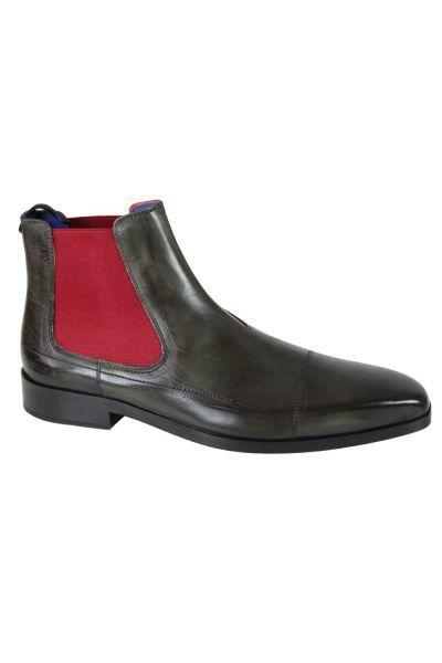 Melvinhamilton - Bottines en cuir Melvin   Hamilton Lewis 12 Gris - 42 -  pas cher Achat   Vente Boots homme - RueDuCommerce b9b30b1e1a02