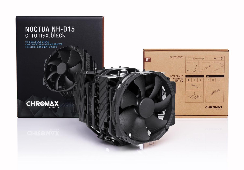 Ventirad pour processeur Intel & AMD - 2 x Ventilateurs 14 cm PWM