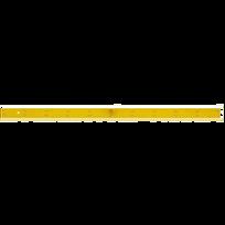 Jpc - Grande règle pour tableau - longueur 1 mètre - en bois - jaune