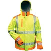 Elysee - Veste softshell Haute visibilité Rickmer Taille Xl,jaune/orange