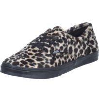 Vans - Baskets U Authentic Lo Pro Furry Leopard