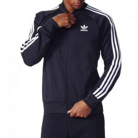 Adidas originals Veste Superstar Tracktop Marine Homme