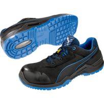 4e4899b49186fe Puma - Basket de sécurité basse Argon Blue Low 100% non métallique Esd S3  Src