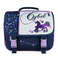 Bagtrotter - Cartable 38 Cm Marine-Cybel Cheval