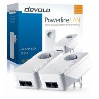 Devolo - dLAN 550 duo+ Starter Kit Cpl - Eu