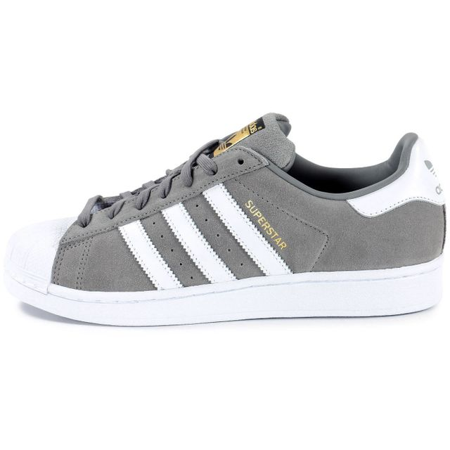 Adidas originals - Superstar Suede Grise