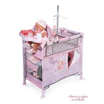 Decuevastoys - Lit dressing aire de jeu complet pour poupée