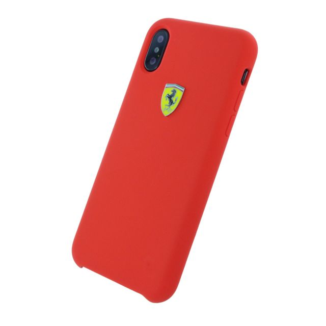 iphone x coque rouge