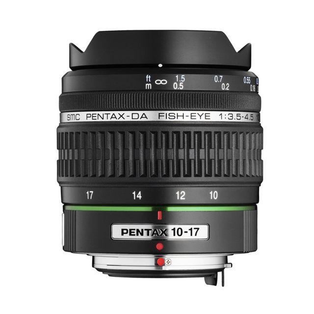 Pentax Objectif 10-17 mm f/3.5-4.5 Ed If Fisheye