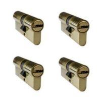 Home Friendly - Cylindre sécurité 60mm/30x30 Lpe /4