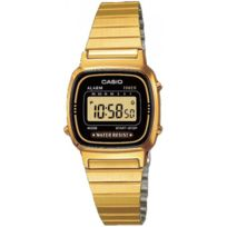 Casio - Promo Montre Acier Collection La670WEGA-1EF - Femme