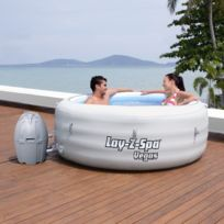 BESTWAY - Spa gonflable 4 à 6 places Lay-z spa Rond - Vegas - 54112