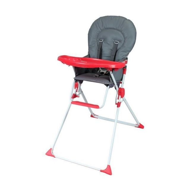 Haute Pas Chaise Vente Fixe Rouge Achat Grisamp; Bambikid Cher H2WbeEID9Y