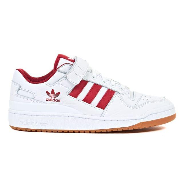 uk availability 07978 aaf1c Adidas - Forum Lo - pas cher Achat   Vente Baskets homme - RueDuCommerce
