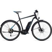Cube - Vélo Électrique Cross Hybrid Pro Allroad 400 Black´n´blue 2017 50 Cm