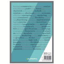 Aurora - Blocs-notes A5 Uni - Lot de 10