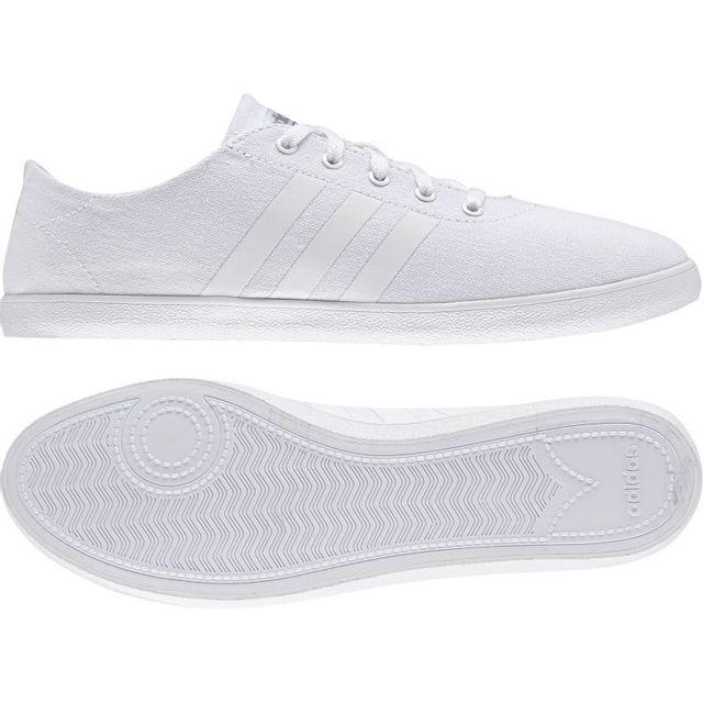 Adidas Baskets Cloudfoam Qt Vulc Noir Femme pas cher
