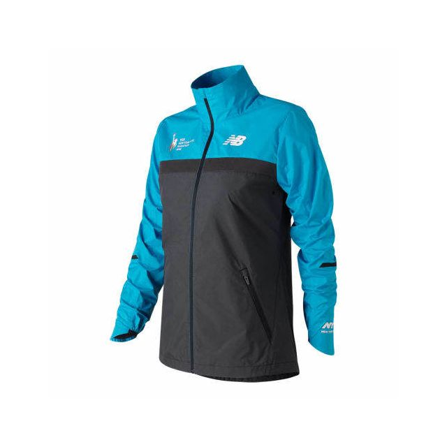 New Balance Veste coupe vent Nyc Marathon Windcheater bleu