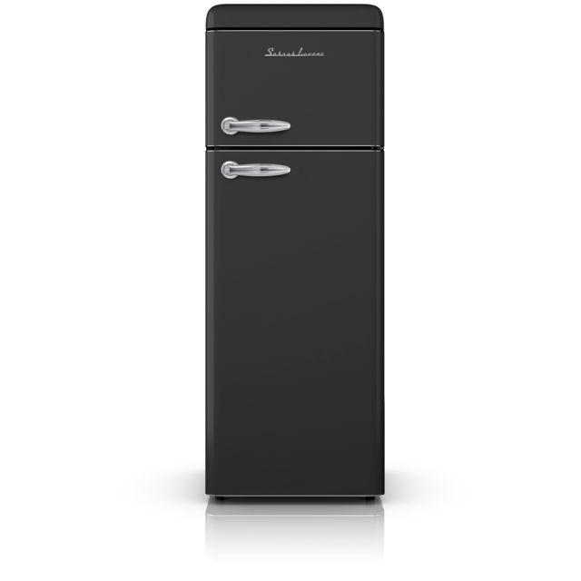 Schaub Lorenz - Réfrigérateur 2 portes Noir 208L - SL 208 DDB