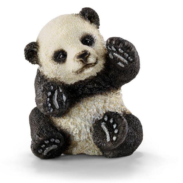Schleich - Figurine panda bébé jouant - pas cher Achat   Vente ... 4d0d2fe4285