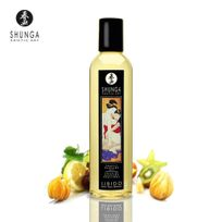 Shunga - Huile de massage Erotique Fruits Exotiques
